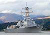 USS Bainbridge - DDG 96 - Departs Faslane