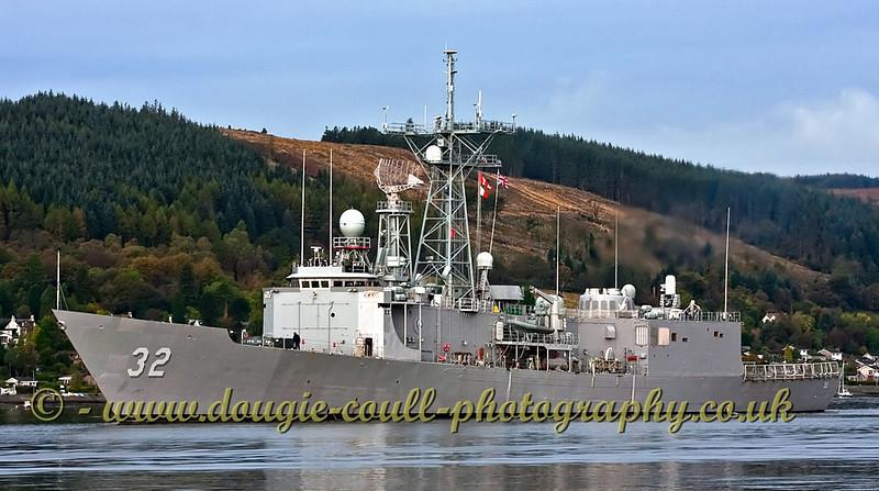 USS John L Hall American FFG 32 Frigate