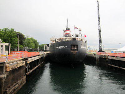 Soo Locks, Sault Ste. Marie, MI, June 27, 2013.