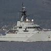P-281 HMS TYNE, UK, River Clyde October 2014