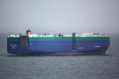 LAPIS ARROW IMO:9361809 41000gt - Anchored of Falmouth 31.08.09