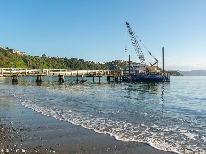 'Patiki' at the Seatoun Wharf, 15 September 2021