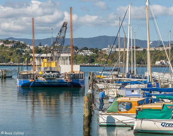 'Patiki' at the Evans Bay Marina, 11 September 2021