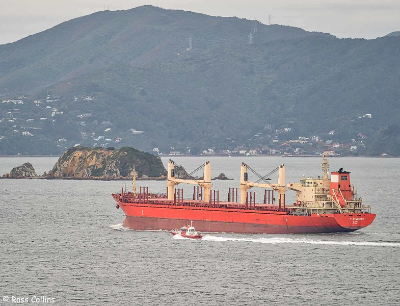 'T Symphony' arriving at Wellington, 24 May 2020