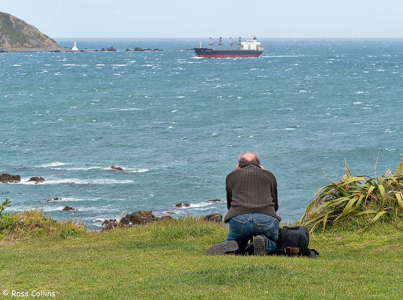 'Xing Yuan Hai' arriving at Wellington, 11 October 2020