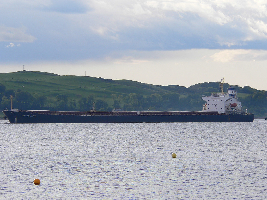 AEOLIAN SPIRIT, Flag: Cyprus, 40,002 GRT, River Clyde May 2007
