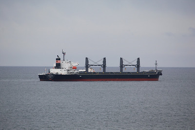 ATLANTIC LAUREL IMO:9494747 20243gt - Bunkering off Falmouth 08.05.12