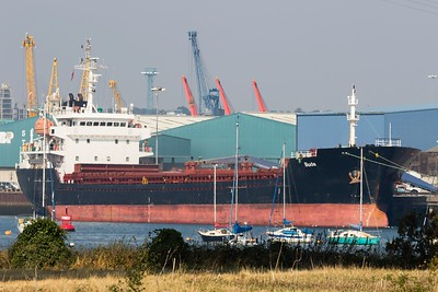 BUDE IMO: 9349978 5,164gt @ Ipswich 15.09.16
