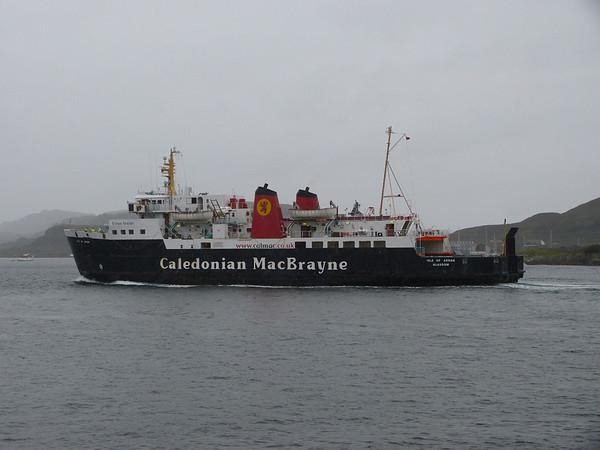 Caledonian Macbrayne - 'Isle of Arran' 120910 Oban