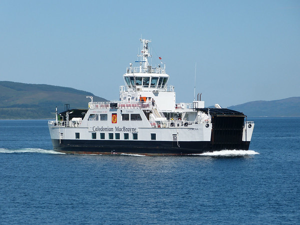 Caledonian MacBrayne - 'Catriona' 170724 Lochranza