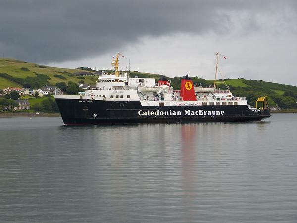 Caledonian MacBrayne - 'Isle of Arran' 170730 Campbeltown