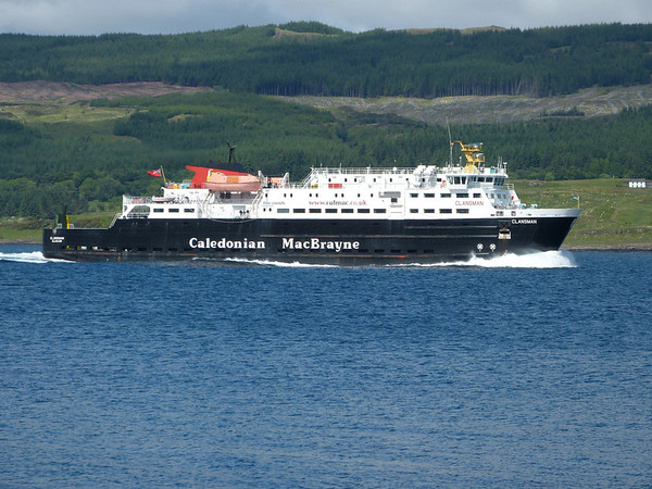 Caledonian Macbrayne - 'Clansman' 130615 Sound of Mull