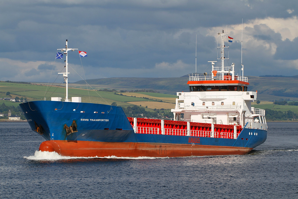 EEMS TRANSPORTER, Flag: Netherlands, 2,186 GRT, River Clyde August 2013