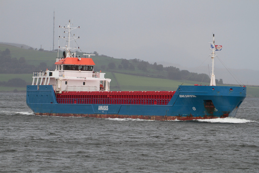 EEMS CHRYSTAL, Flag: Netherlands, 1,945 GRT, River Clyde Sept 2013