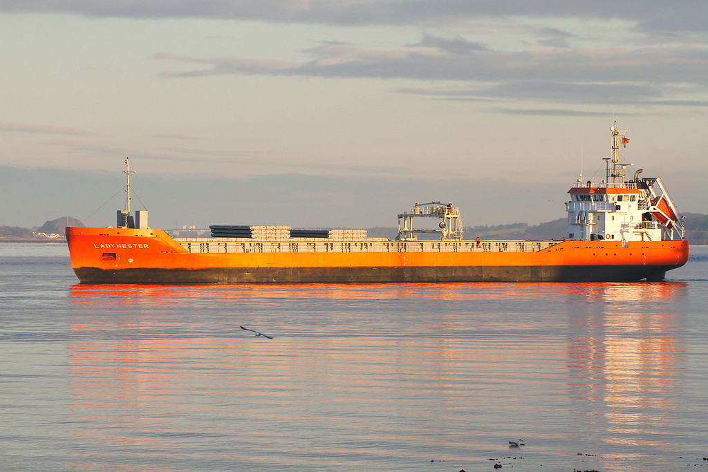LADY HESTER, Flag: Netherlands, 2,992 GRT, River Clyde February 2013
