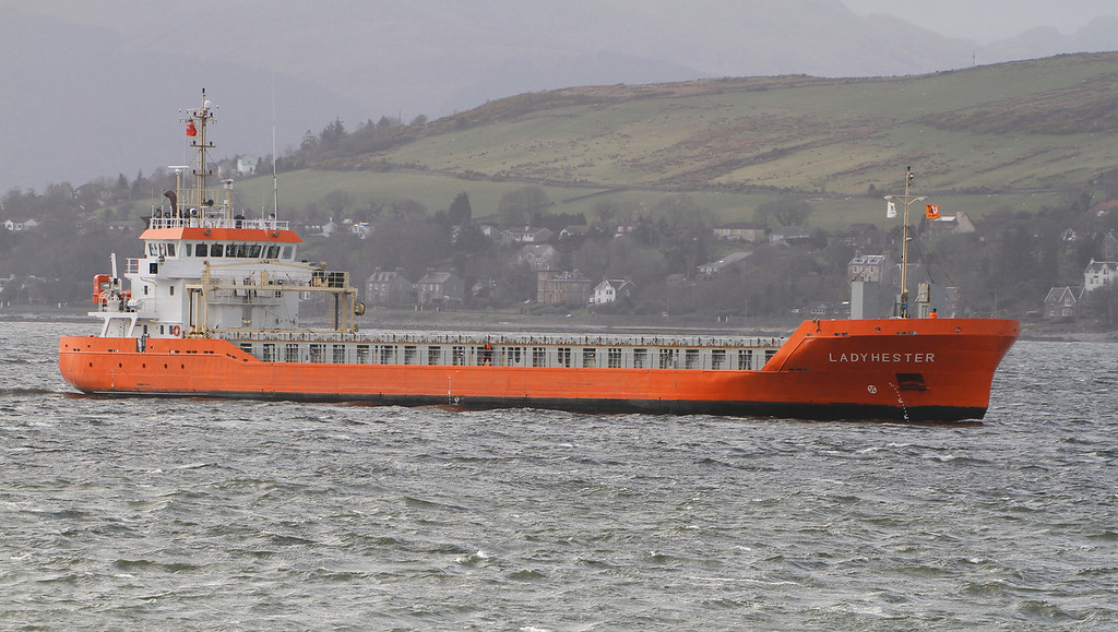 LADY HESTER, Flag: Netherlands, 2,992 GRT, River Clyde April 2013