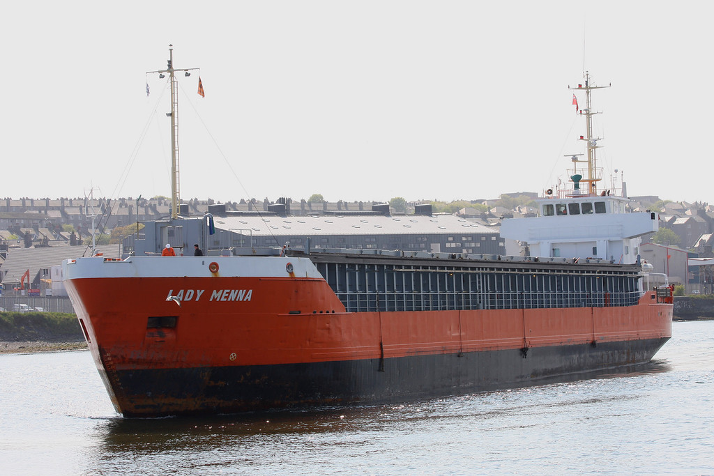 LADY MENNA, Flag: Netherlands, 2,561 GRT, Aberdeen April 2011