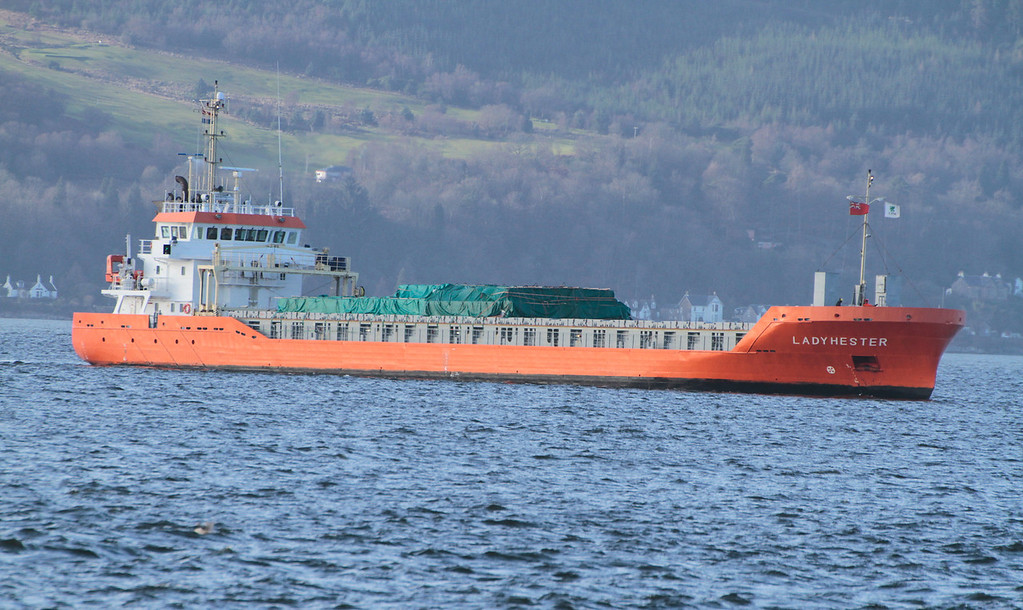 LADY HESTER, Flag: Netherlands, 2,992 GRT, River Clyde Feb 2014