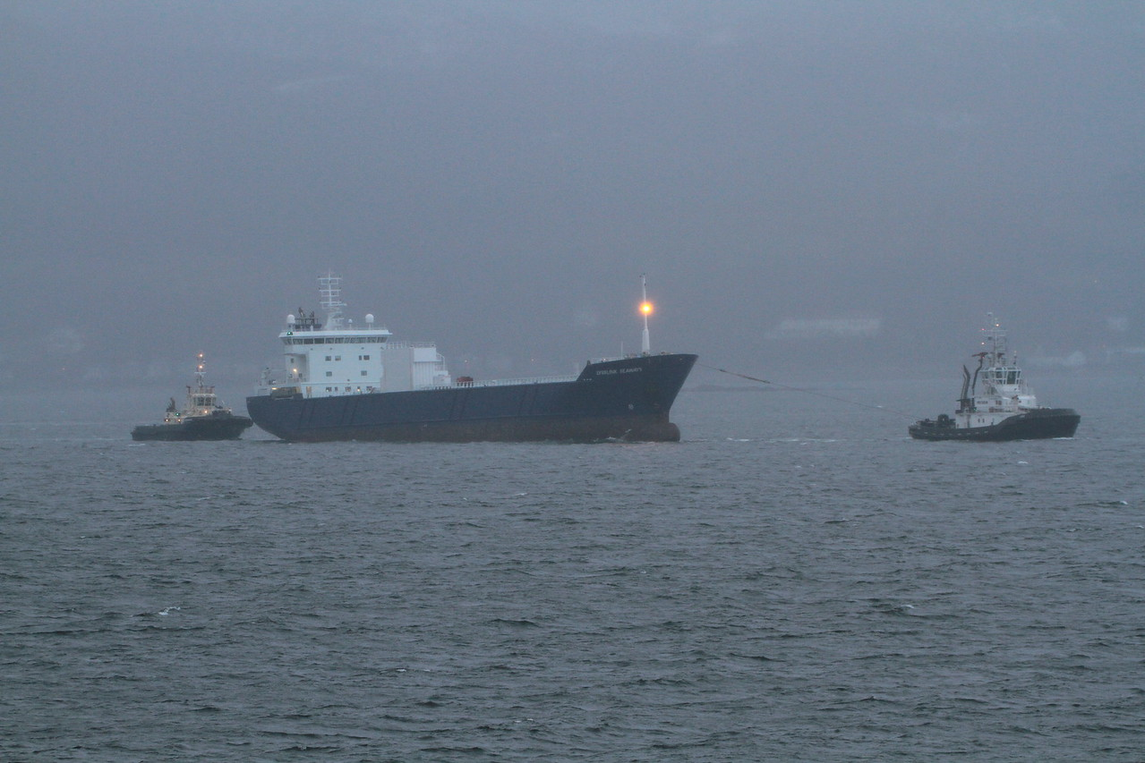 LYSBLINK SEAWAYS towed by LUCA