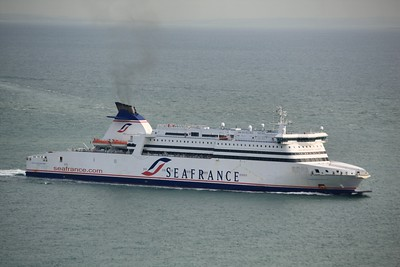 SEAFRANCE MOLIERE IMO:9211511 30285gt - Approaching Dover 13.10.11