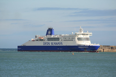 DUNKERQUE SEAWAYS IMO:9293076 35923gt - Arriving @ Dover 11.10.11