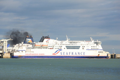 SEAFRANCE RODIN IMO:9232527 33796gt @ Dover 11.10.11