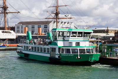 HARBOUR SPIRIT IMO: 9741669 @ Portsmouth Harbour 30.07.17