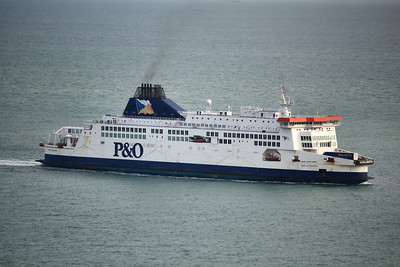 PRIDE OF CANTERBURY IMO:9007295 30635gt - About to arrive @ Dover 13.10.11