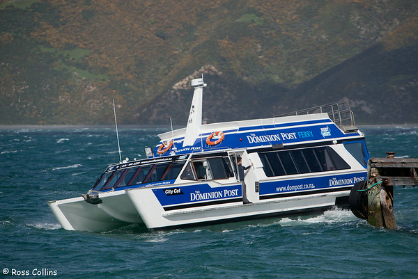 Wellington Harbour Ferry 2011
