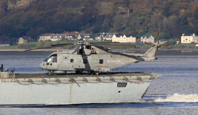 ZH841 Royal Navy Merlin HM2