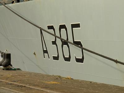 A385, Fort Rosalie's ship number