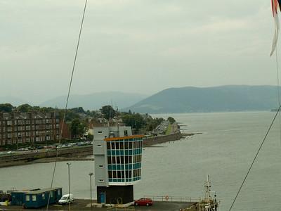 Esplanade as seen from the bridge of Fort Rosalie