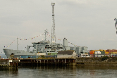 Fort Rosalie at Clydeport Container Terminal