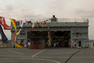 Fort Rosalie's hangers and flight deck
