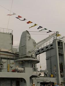 5 ton deck crane