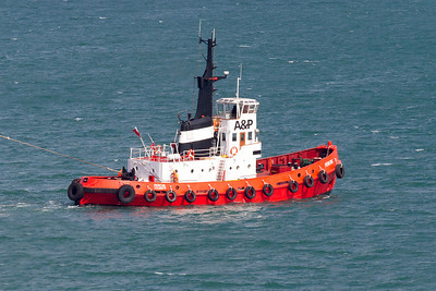 Tug Percuil, Falmouth Harbour. Thursday 4th April 2013.
