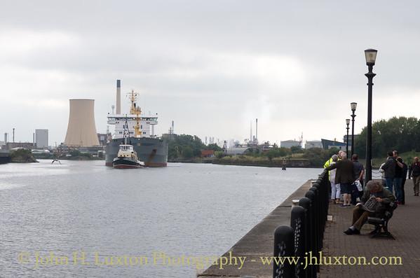 Daniel Adamson - Manchester Ship Canal Cruise - July 25, 2017