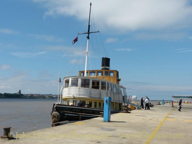 Daniel Adamson - River Mersey Cruise - July 09, 2017