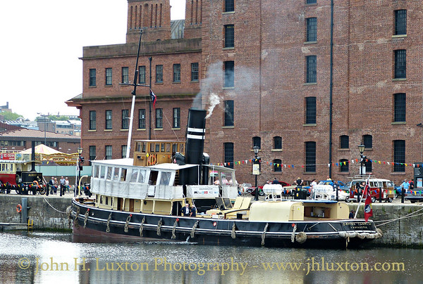 Daniel Adamson - River Mersey Cruise - July 09, 2017