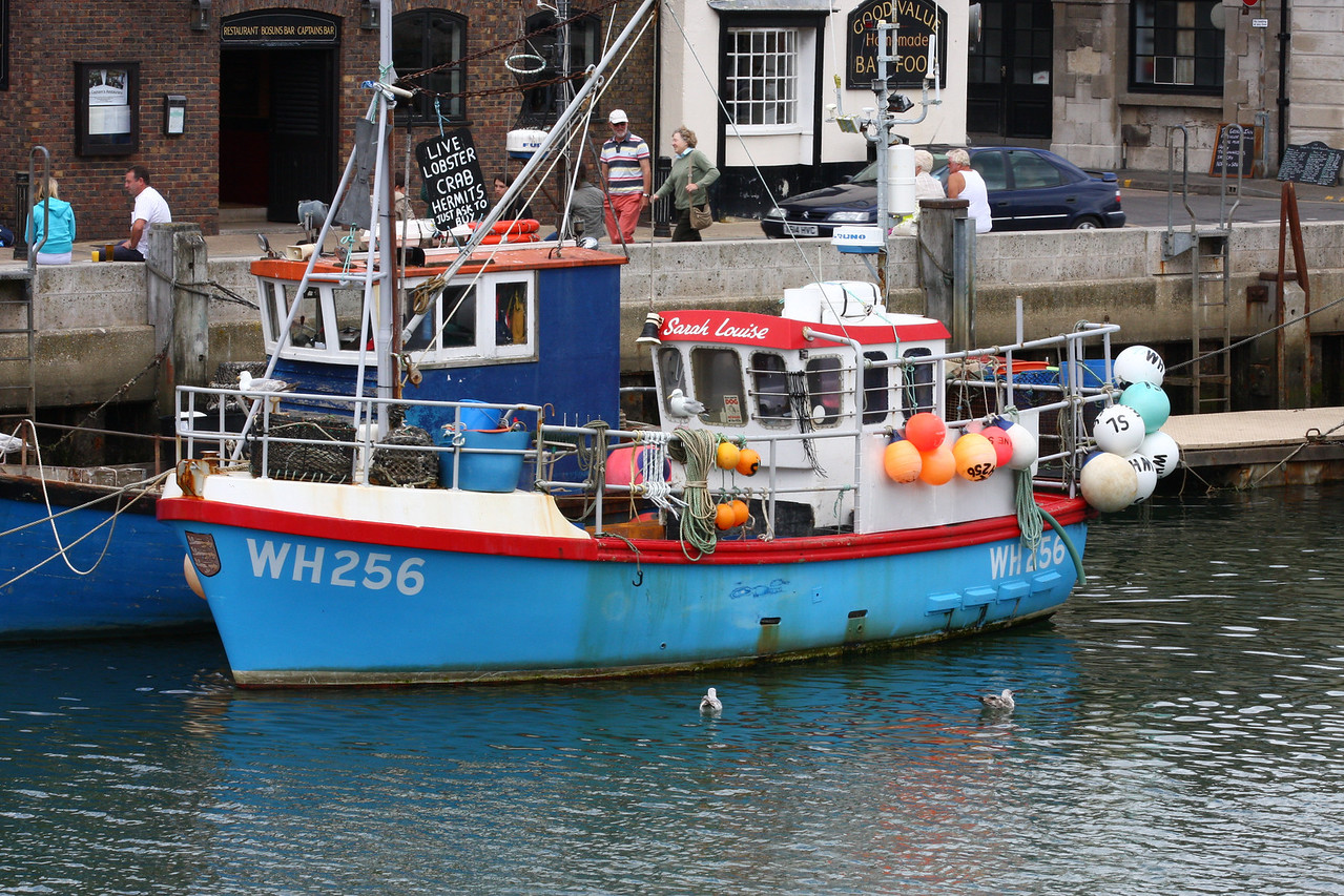 SARAH LOUISE, WH-256(Weymouth), Weymouth July 2009