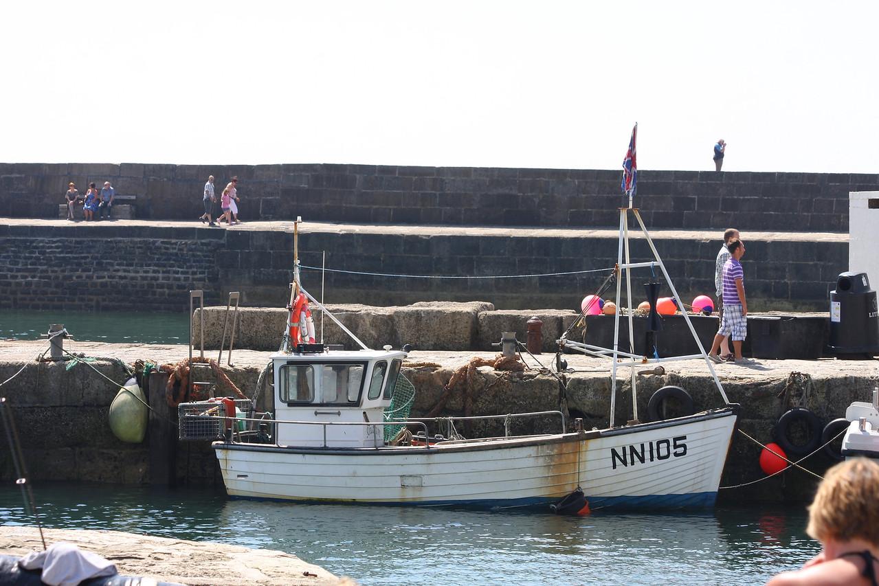 RHIANNON, NN-105(Newhaven), Lyme Regis July 2012