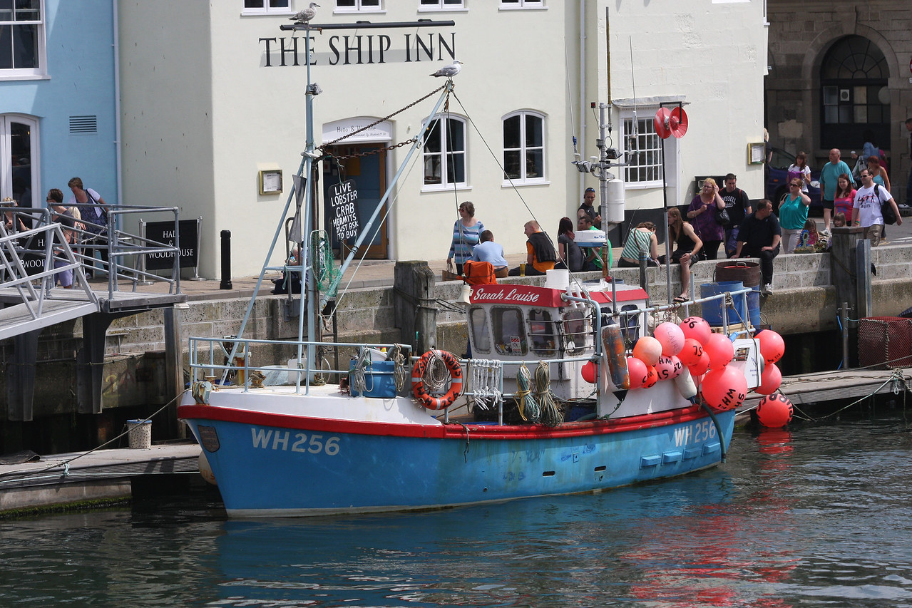 SARAH LOUISE, WH-256(Weymouth), Weymouth July 2012