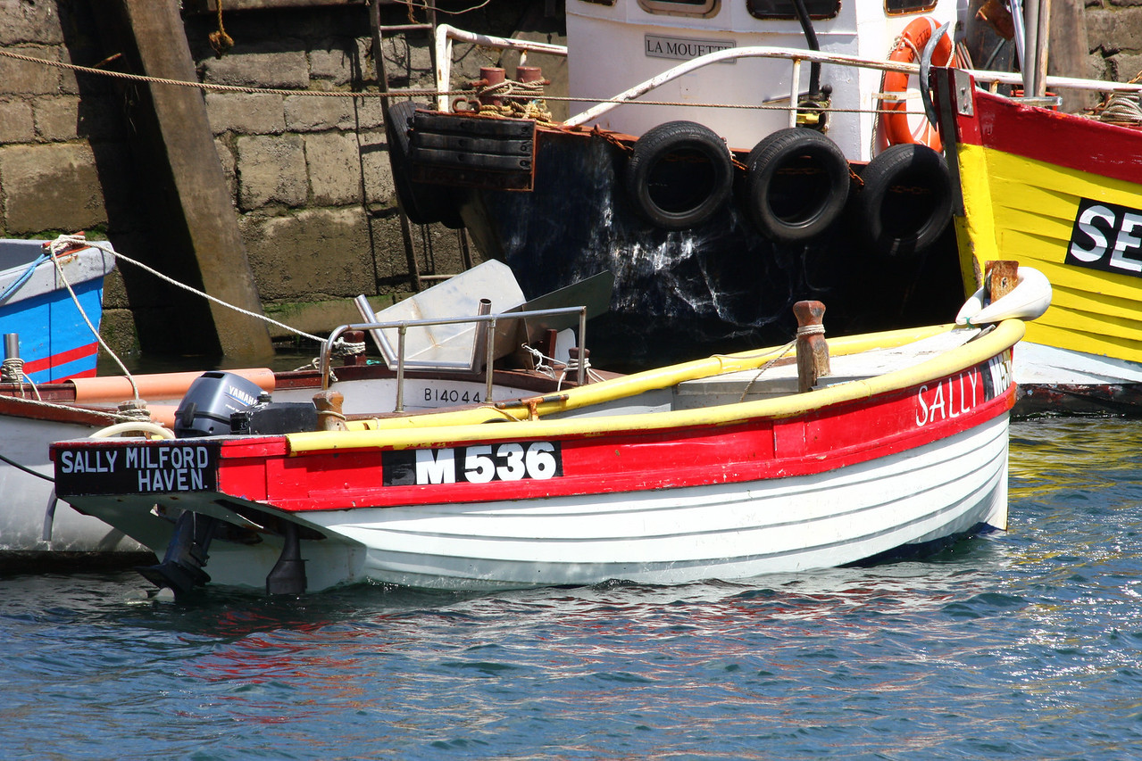 SALLY, M-536(Milfordhaven), Brixham July 2009