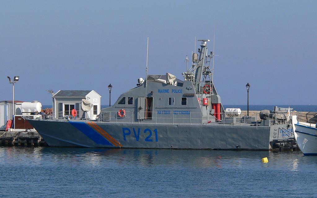 EVAGORAS, Cyprus Police, Paphos July 2013
