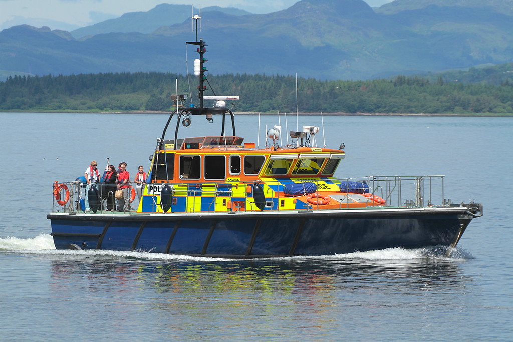 CONDOR, MOD Police, River Clyde June 2014