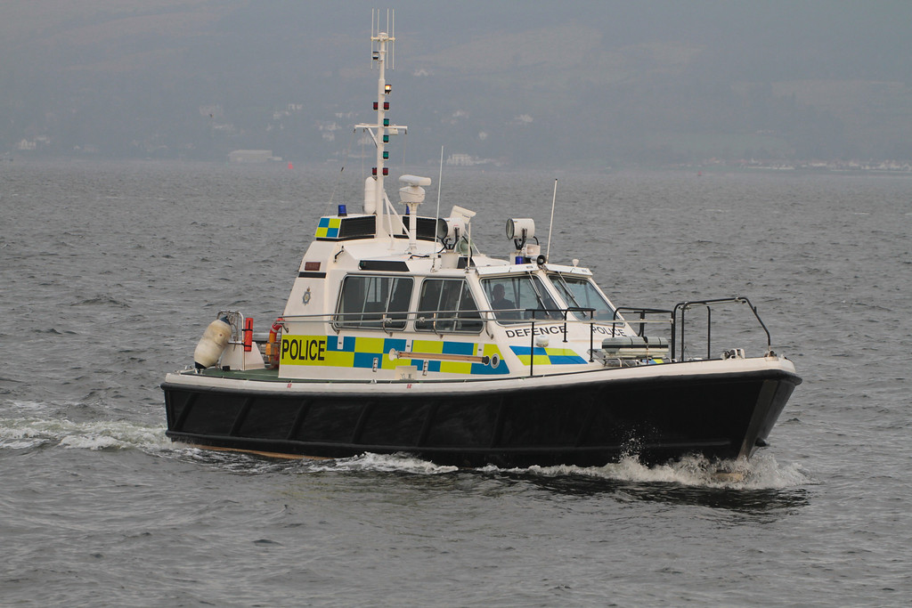 EAGLE, MOD Police, River Clyde January 2014