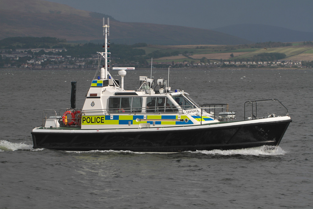 EAGLE, MOD Police, River Clyde September 2013