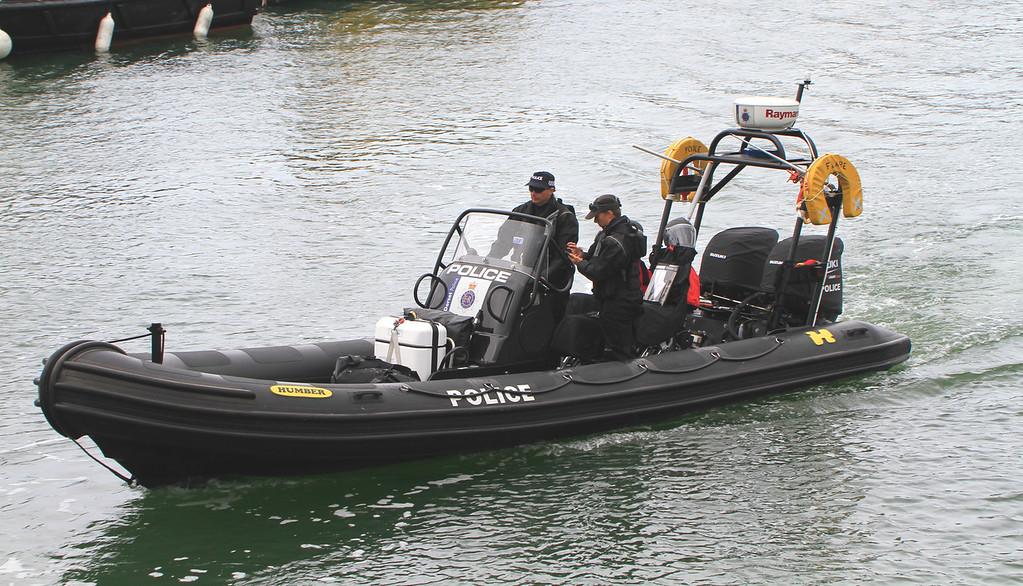 Dorset Police RIB, Poole July 2015