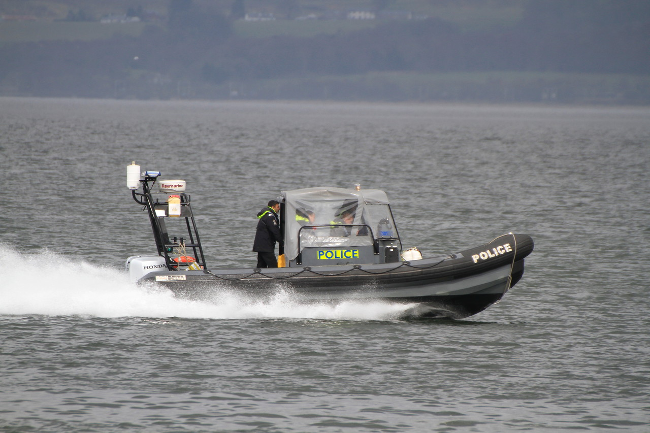 POLICE SCOTLAND RIB