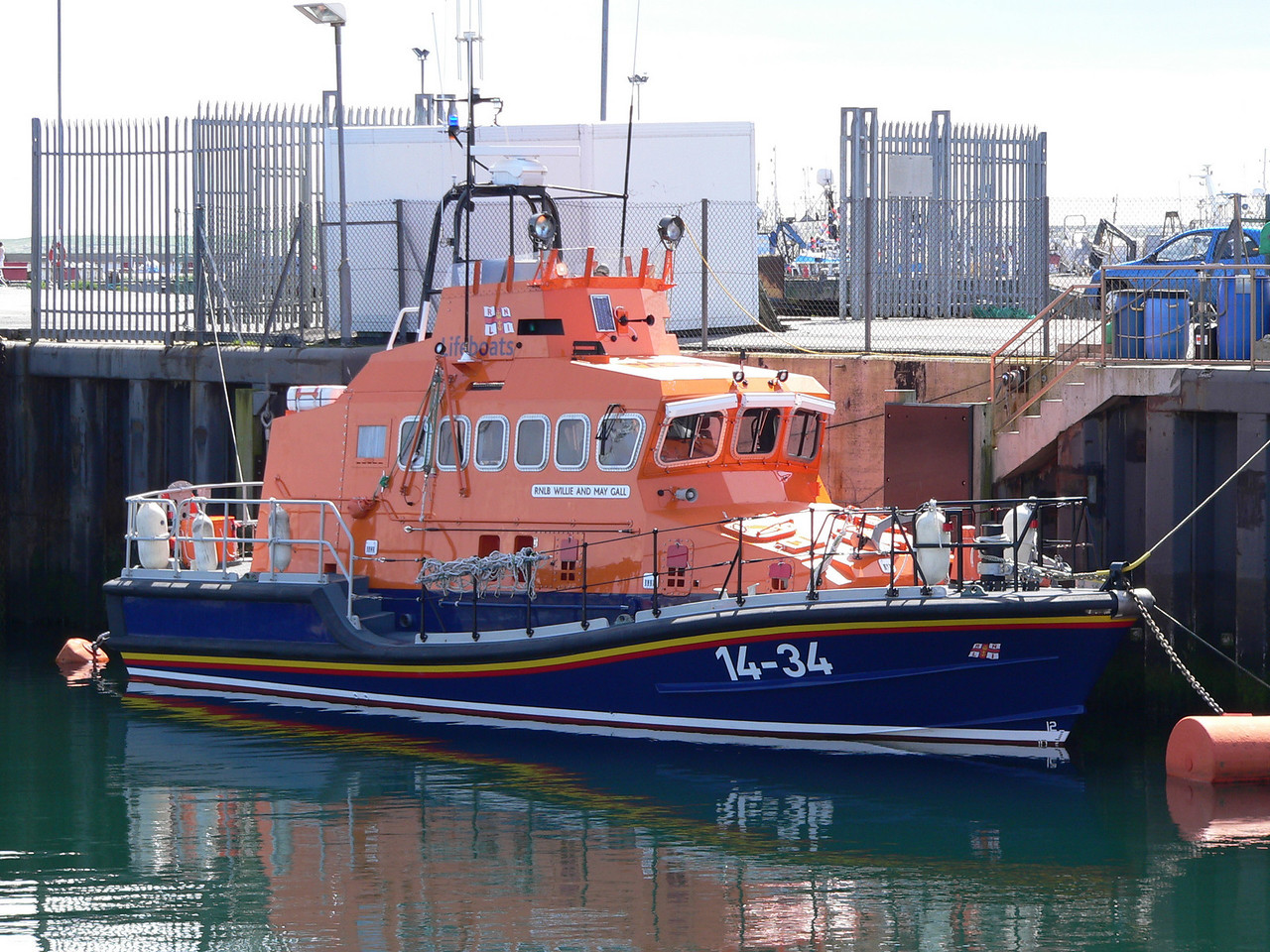 RNLB WILLIE AND MAY GALL